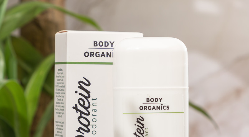 Body Organics introduces a natural protein deodorant to provide all-day protection