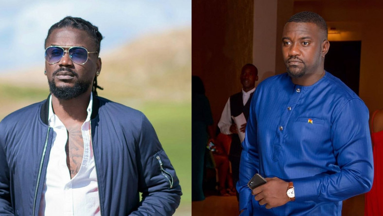 Samini just went hard on John Dumelo's tweets; the 'Parliament Chamber' debate is getting interesting