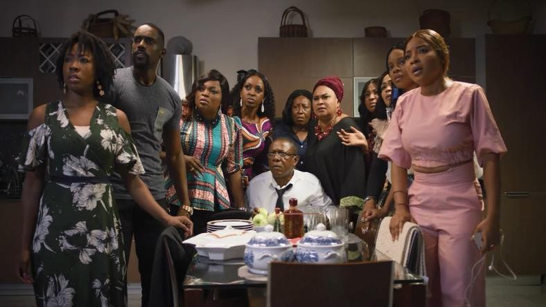 A scene from EbonyLife films, 'Chief Daddy,' which has also made its way into Netflix. [EbonyLife films]
