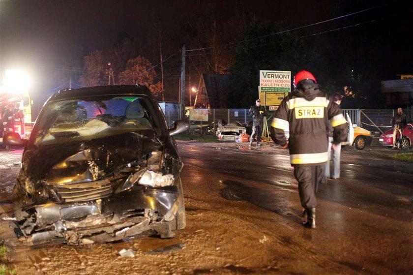 Tragiczny wypadek pod Łodzią! FOTO
