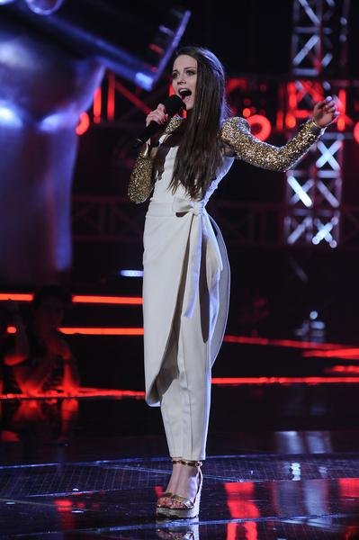 "Katarzyna Sawczuk w finale ""The Voice of Poland"""