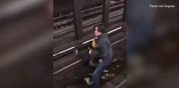 Bohaterska postawa pasażera. Zapobiegł tragedii w metrze