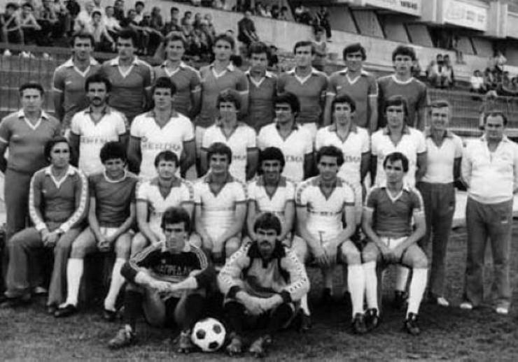 ekipa napretka sa trenerom tomom kaloperovicem koja je 1980. godine izborila plasman u kup uefa