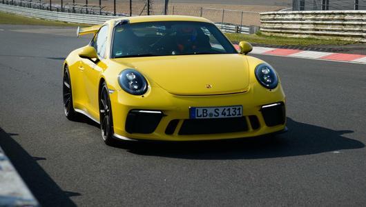Porsche 911 GT3 z rekordem na Nürburgring