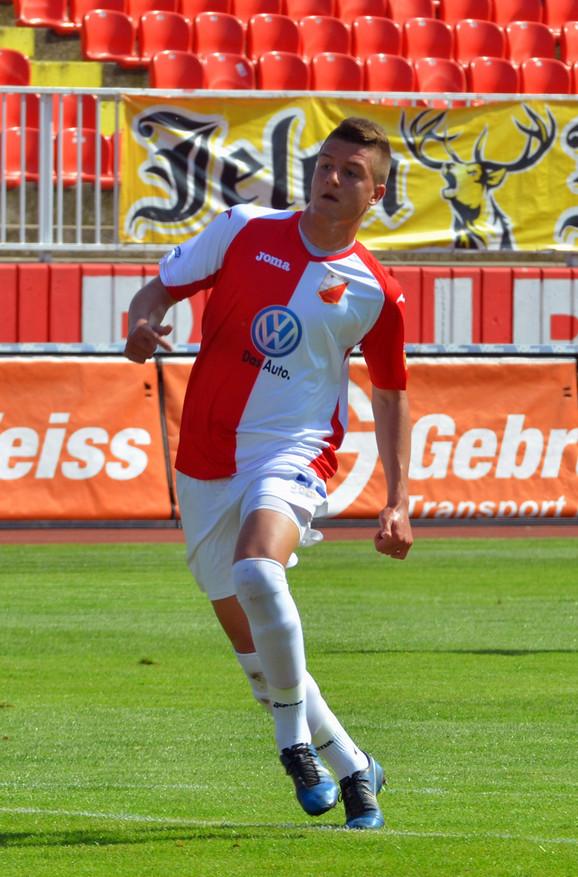 Sergej Milinković Savić dok je nosio dres Vojvodine