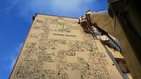 Kraków: mural inspirowany inskrypcją Majów o końcu świata