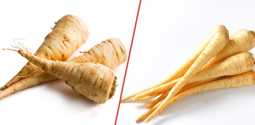 Tylko jedno z tych warzyw to drogocenna pietruszka! Nie dajcie się oszukać