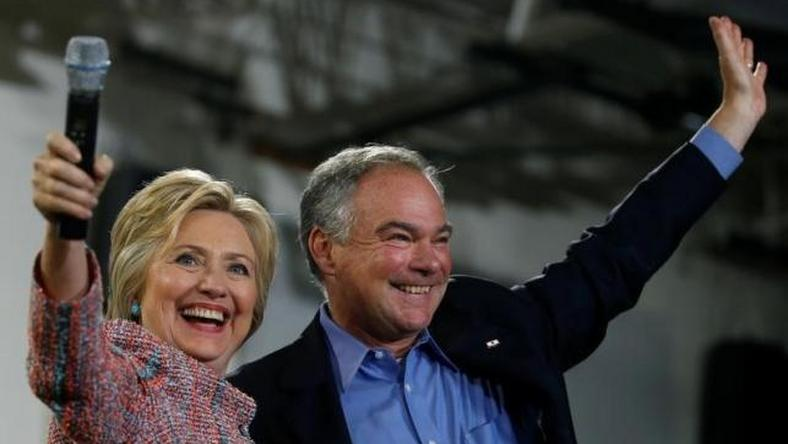 Democrat Clinton picks Kaine, able governing partner, as running mate