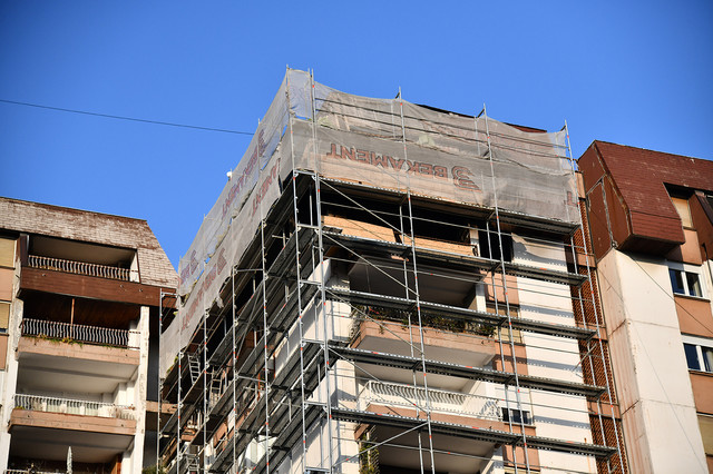 Rekonstrukcija zgrade na Dorćolu