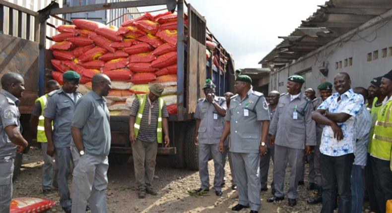 Ban on importation of rice boosting local production — Customs/Illustration