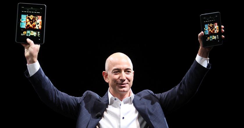 Jeff Bezos posiada 17 proc. akcji Amazona