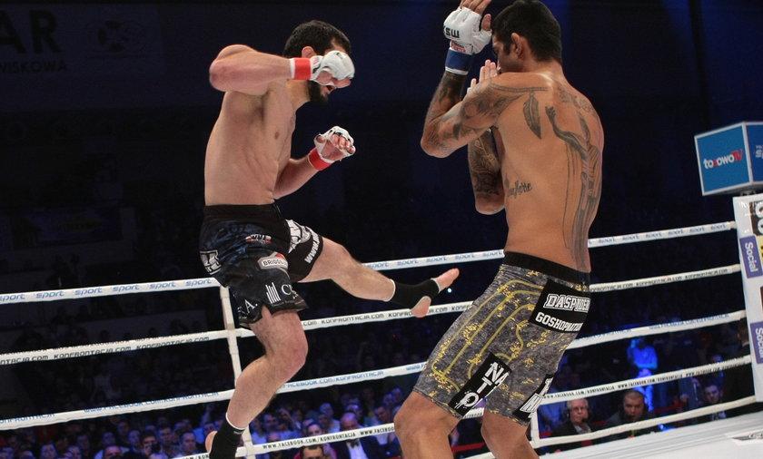 Mamed Khalidov vs Kendall Grove na KSW 21