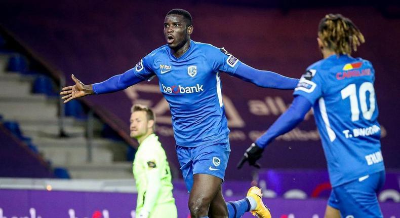 Paul Onuachu is expected to leave Genk this season for a bigger club (Instagram/Paul Onuachu)