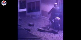 Mieszkaniec Zamościa zbulwersowany tym, jak policja szuka podpalacza punktu szczepień