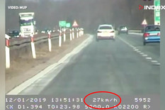 Hrvatska jurcanje po autoputu