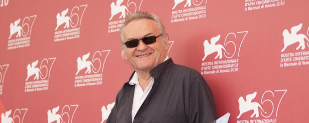 Jerzy Skolimowski na festiwalu filmowym w Wenecji w roku 2010