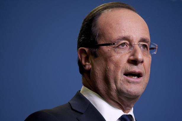 Prezydent Francji powiedział, że jego zdaniem należy w sposób uporządkowany i systematyczny kontrolować sprawę zjawisku napływu uchodźców