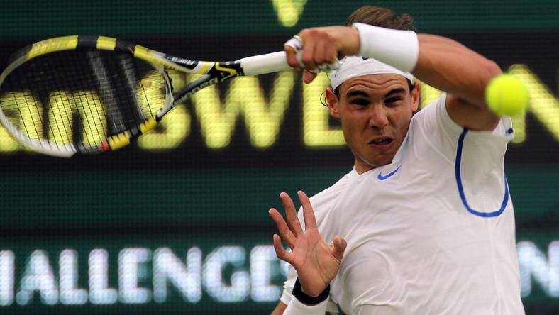 Wimbledon - szybki mecz Nadala