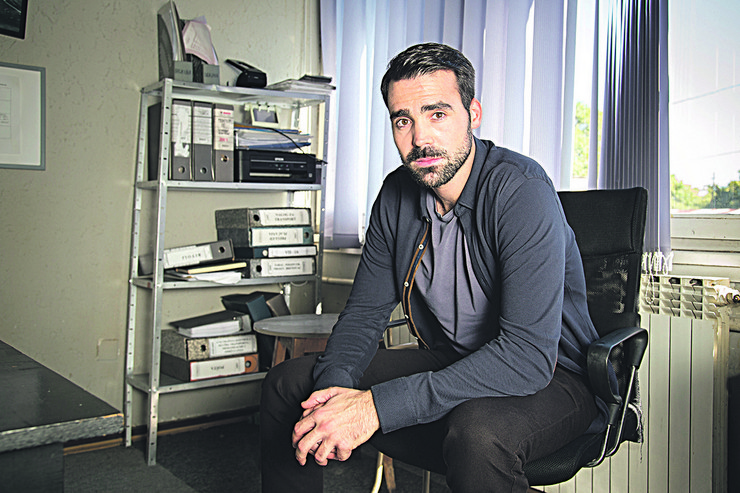 Jedan od novih likova u seriji je i inspektor Zoran, koga tumači Miodrag Radonjić