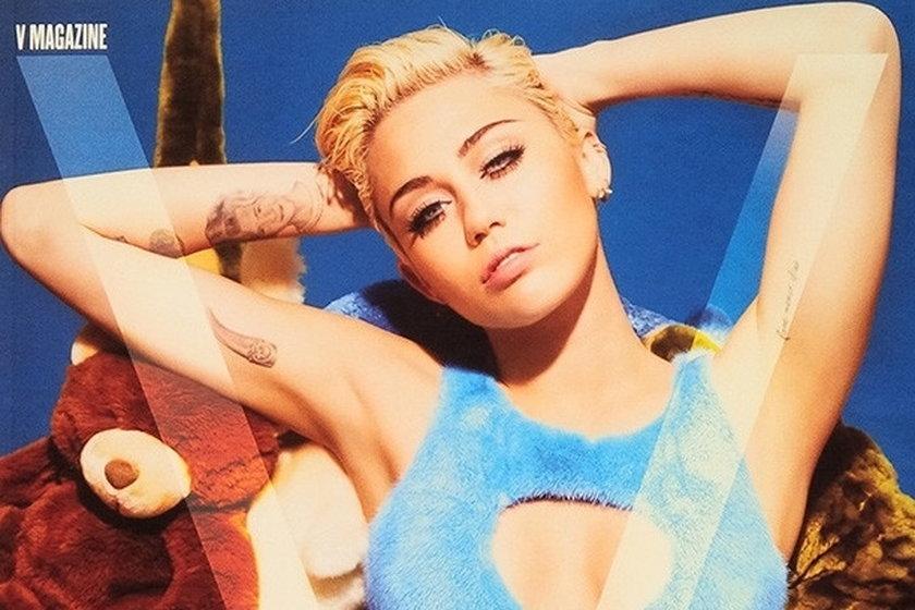 """Miley Cyrus w """"V Magazine"""""""