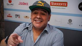 Maradona z honorowym obywatelstwem Neapolu