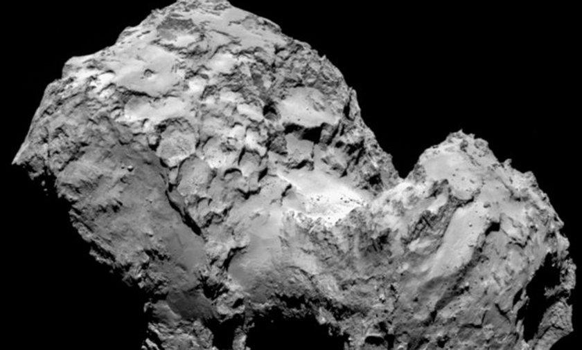 Ta kometa ma twarz