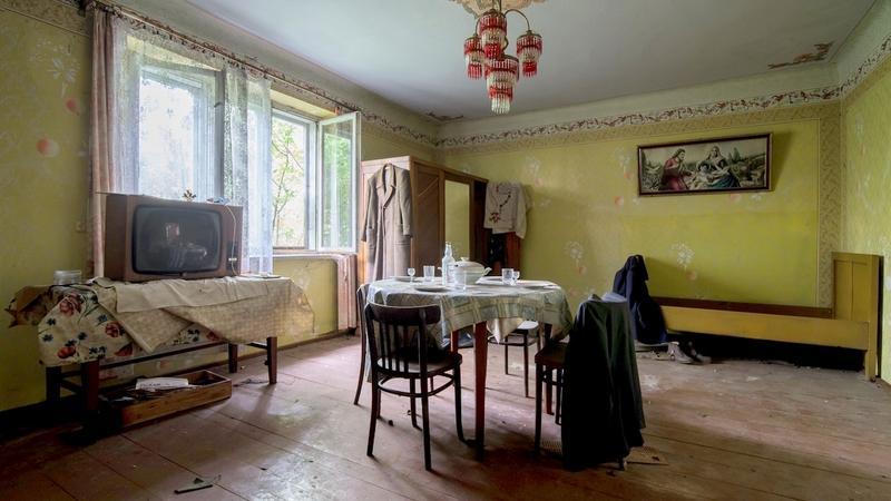 Opuszczona chata na Mazowszu w powiecie żyrardowskim