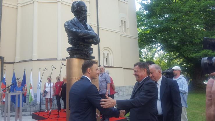 Otkrivanje biste doprinosi čvršćoj saradnji dve prestonice, poruka je gradonačelnika Beograda i Ljubljane