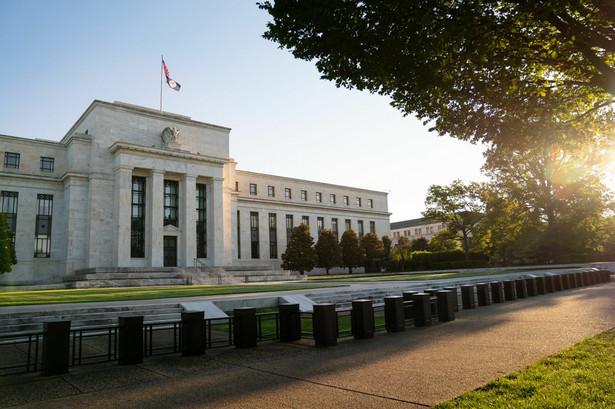 Rezerwa Federalna (FED) w Waszyngtonie, USA, 18.08.2020