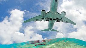 Kłopoty z lądowaniem na słynnym lotnisku. Samolot znalazł się tuż nad wodą