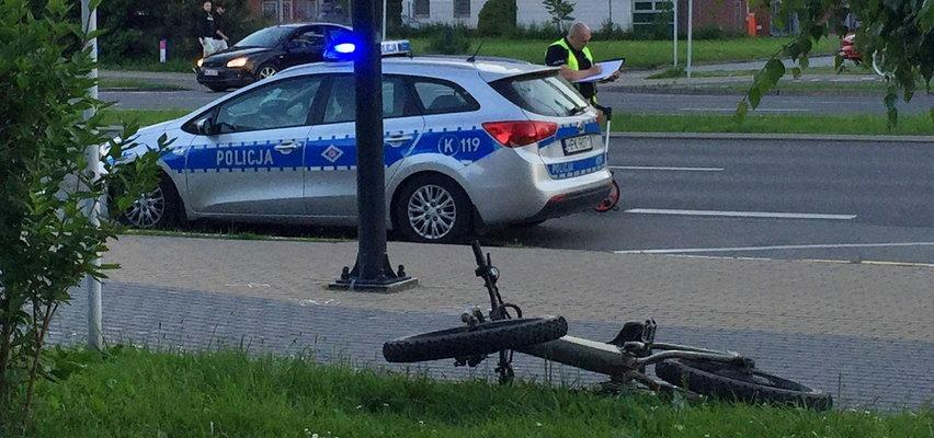"""Dramatyczne sceny w Rzeszowie! Mały chłopczyk wpadł pod """"rowerowy czołg"""""""