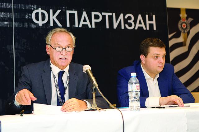 Milorad Vučelić i Miloš Vazura