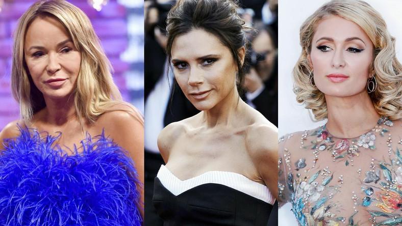Joanna Przetakiewicz, Victoria Beckham, Paris Hilton