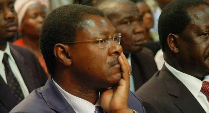 Ford-Kenya Party leader Moses Wetangula