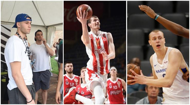 Mario Nakić, Boriša Simanić i Alen Smailagić