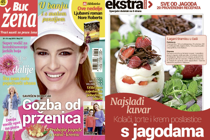 "Nova ""Blic žena"" na kioske stiže 18. maja"