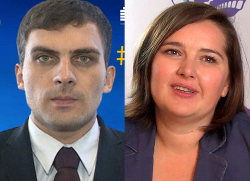 Dariusz Kmiecik i jego żona Brygida