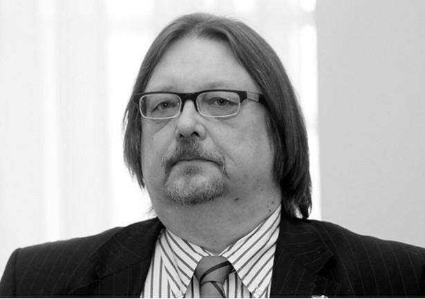 """""""Odszedł śp. Andrzej Urbański - wieczny odpoczynek racz mu dać Panie!"""" - napisał Kwiatkowski."""