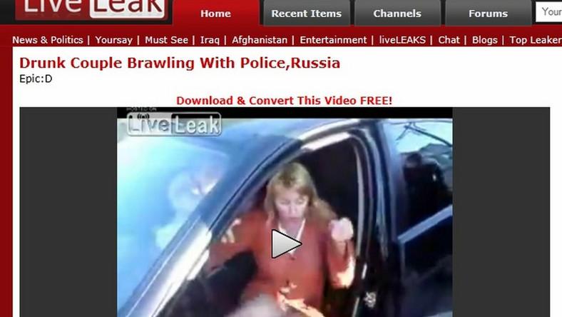 Rosjanka za kierownicą. Tak się kończy jazda po pijaku