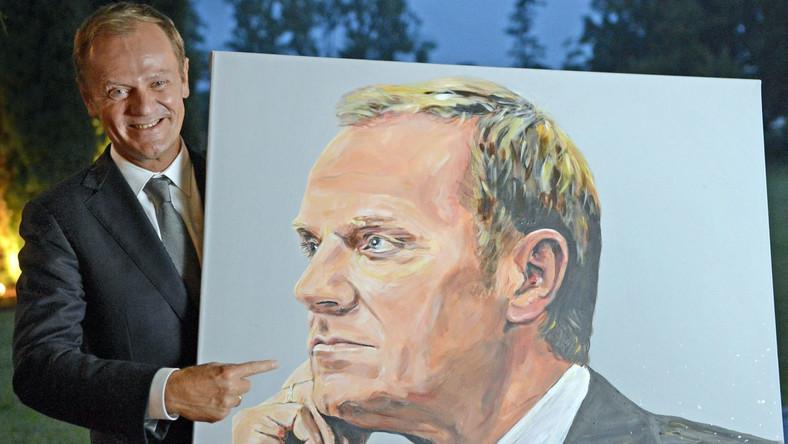 Donald Tusk na ceremonii przyznania nagrody