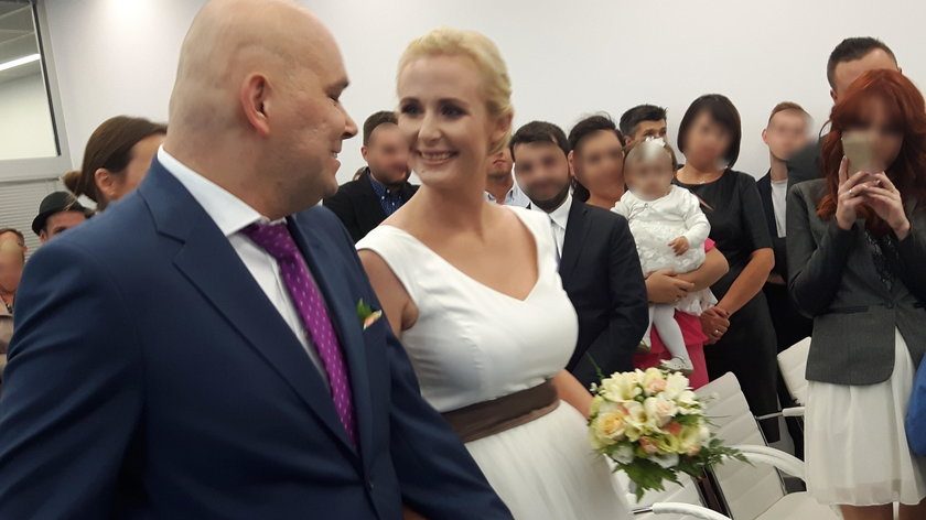 Ślub Tomasza Kality i Anny Monkos (teraz już także Kality)