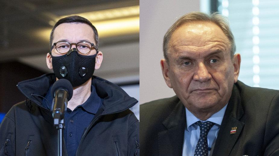 Mateusz Morawiecki i Andrzej Kraśnicki
