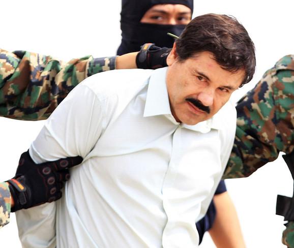 El Čapo prilikom hapšenja 2014.