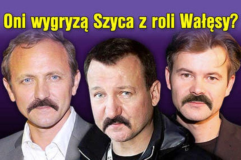 Wygryzą Szyca z roli Wałęsy?