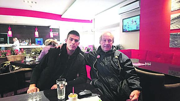 Tomislav Milićević sa Vujadinom Savićem