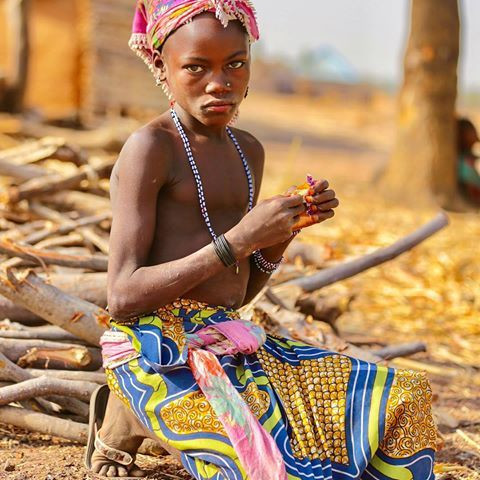 A Kambari tribe girl [imgrum]