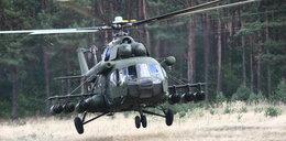 Wypadek wojskowego śmigłowca w Łęczycy