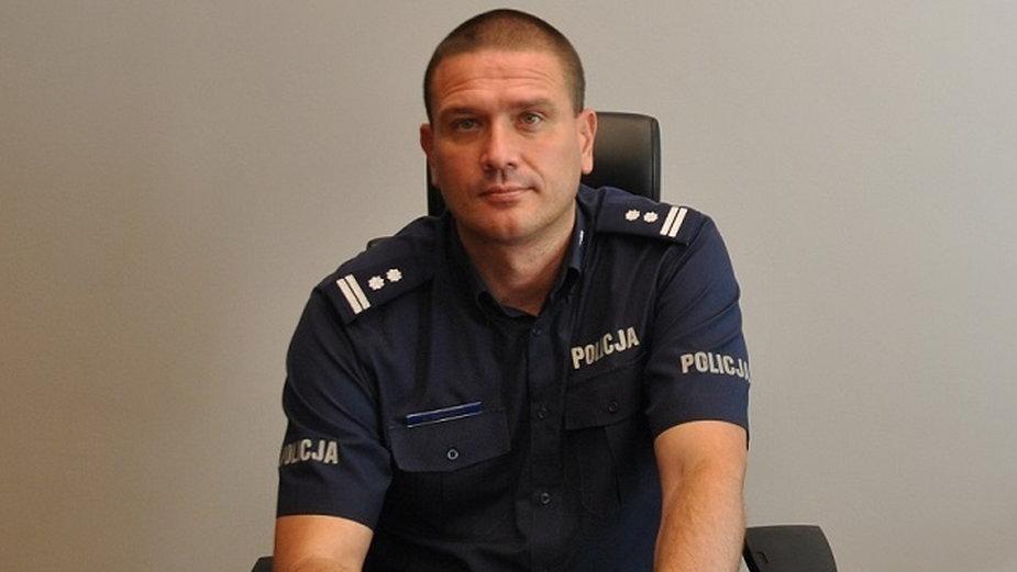 Mł. insp. Dariusz Dziurka został nowym komendantem łódzkiej policji