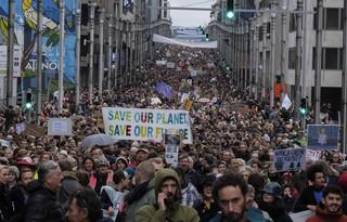 Ponad 65 tys. osób wyszło na ulice Brukseli w związku z COP24. Domagali się walki ze zmianami klimatu