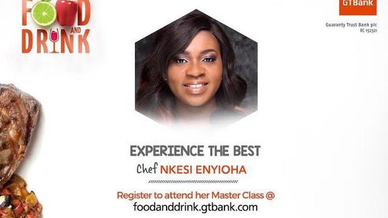 Seasoned Chef is bringing her Gourmet style to the GTBank Food and Drink Fair